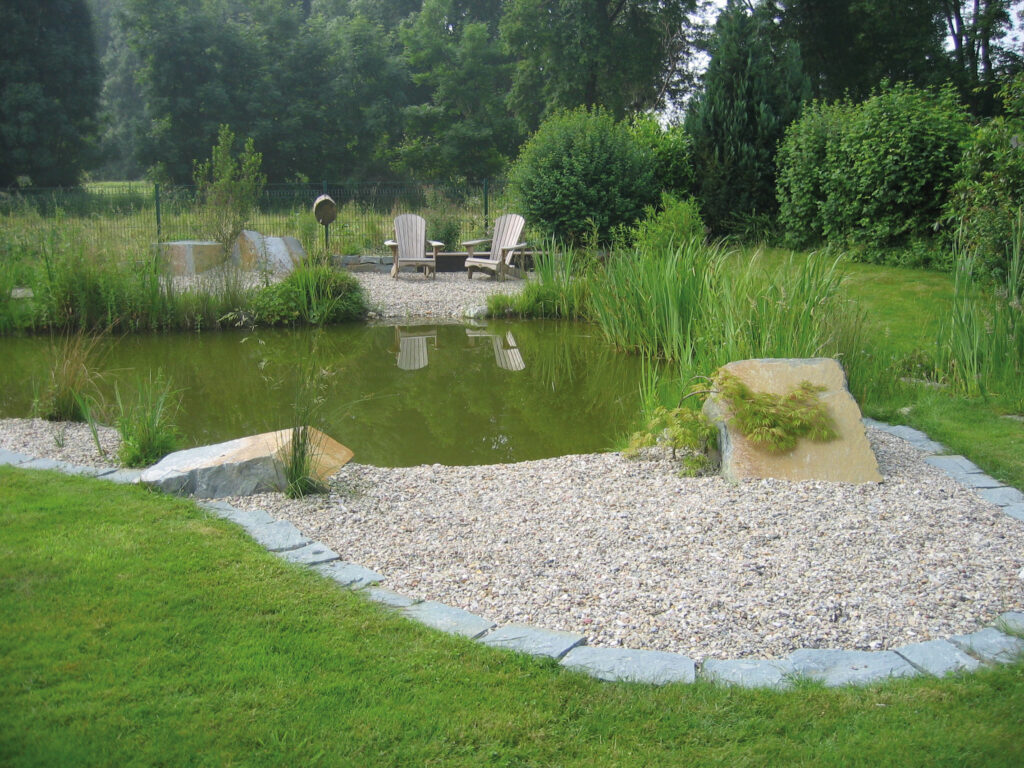 Garten + Wasser
